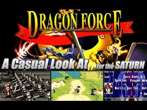 Dragon Force Saturn