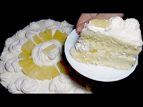 Video Pineapple Cake Recipe - Homemade Cake Recipe