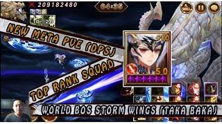 Seven Knights - World Bos Storm Wings Ft. TAKA (New Meta) I TAKA is BAKA