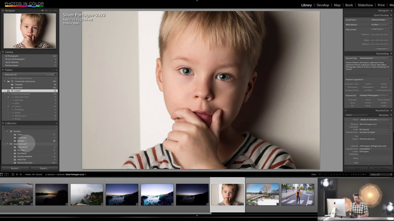adobe lightroom tutorials for beginners by photos in color