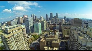 preview picture of video 'Downtown Montreal Aerial Views'