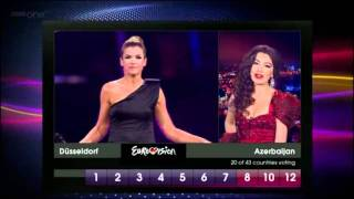 Eurovision 2011 Full Voting BBC
