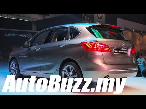 2015 BMW 2-Series Active Tourer launch in Malaysia - AutoBuzz.my
