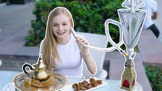 We ONLY ate ARABIC food for 24 HOURS! 🥘