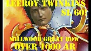 Millwood Great Bow Over 1000 AR! SL 60 Dark Souls 3 PvP