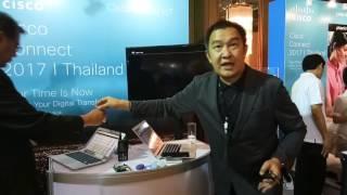 เช็ก IoT ในงาน Cisco connect 2017 I Thailand