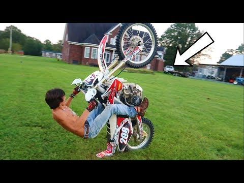 SOLD HIM MY DIRT BIKE and HE DOES THIS!