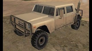 GTA San Andreas - How to get the Patriot from San Fierro at the very beginning of the game