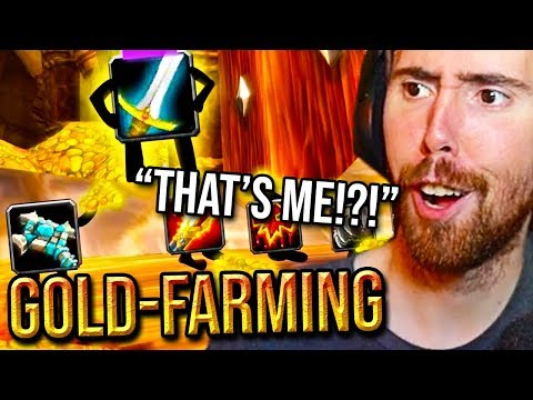 """Asmongold Reacts To """"WoW Classic Gold Farming"""" - WowItsHard"""