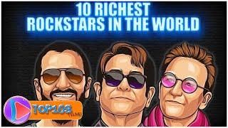 Top 10 Richest Rockstars in the World 2020 | Rockstar | TOP10slive