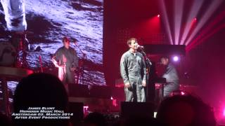 No Tears - James Blunt - Amsterdam 02. March 2014