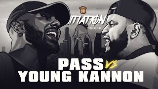 YOUNG KANNON VS PASS SMACK RAP BATTLE | URLTV