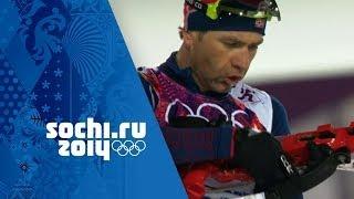 Men's Biathlon 10km Sprint - Bjoerndalen Wins Gold | Sochi 2014 Winter Olympics