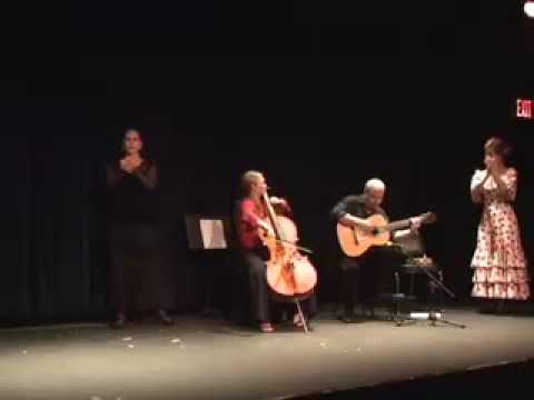 An improvisation with cellist Ashley Bathgate and guitarist Paul Jared Newman, who teaches guitar through Take Lessons