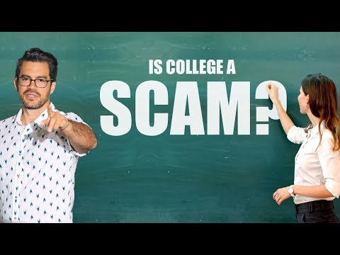 ‪Is College A Scam?‬‏