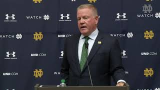 NDFootball | Brian Kelly Press Conference