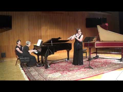 Ballade for flute and piano by Frank Martin