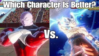 Xenoverse 2 Character Test! Mastered Ultra Instinct Goku Vs. Jiren! Who Is The Strongest Warrior?