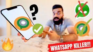 Sandes App - Whatsapp Killer By Indian Government - GIMS App🔥🔥🔥