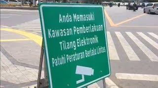 Mengenal Sistem Tilang Elektronik di Sepanjang Jalan Sudirman Thamrin