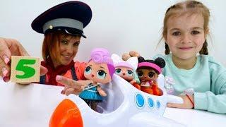 Куклы Лол на море. Маша Капуки и видео для девочек.