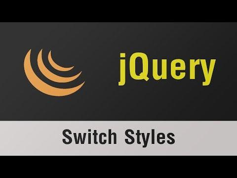تعلم jQuery القائمة #2 الفديو #8