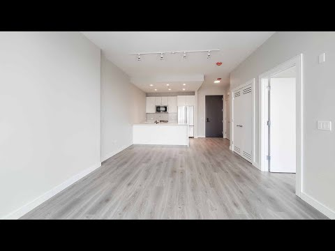 A River North 1-bedroom CA6 at the new One Chicago Apartments