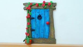 DIY Crafts: Fairy Door Or Mouse Door - Isa ❤️