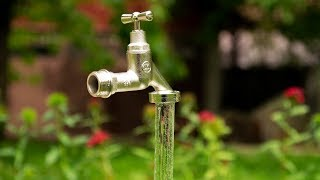 How To Make A FLOATING Faucet Fountain | DIY Project