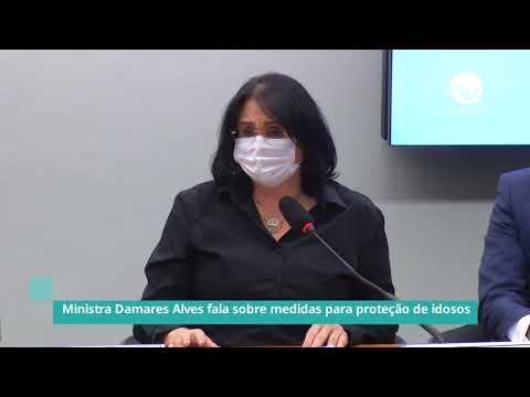 Damares Alves fala sobre medidas para proteção de idosos - 08/04/21