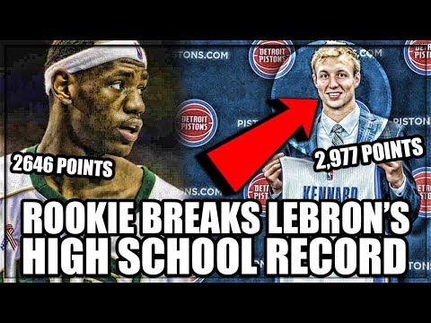 This G-LEAGUE Rookie BROKE LeBron James' High School SCORING Record!