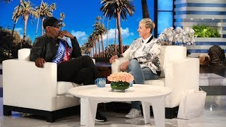 "Samuel L. Jackson is a regular in the Marvel universe, but he revealed to Ellen that while he wasn't in ""Black Panther,"" there's still a chance his character Nick Fury may end up in Wakanda."