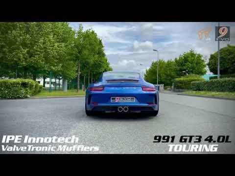 Porsche 991 GT3 4.0 Touring w/ iPE Exhaust