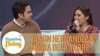 Moira and Jason share their favorite part of their wedding | Magandang Buhay
