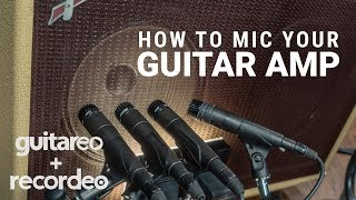 How To Mic Your Guitar Amp (For Beginners)