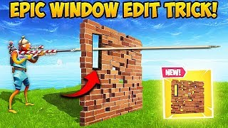 *NEW* OP SMALL WINDOW TRICK! - Fortnite Funny Fails and WTF Moments! #426