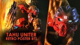 BIONICLE 2016 TAHU UNITER Retro poster BTS