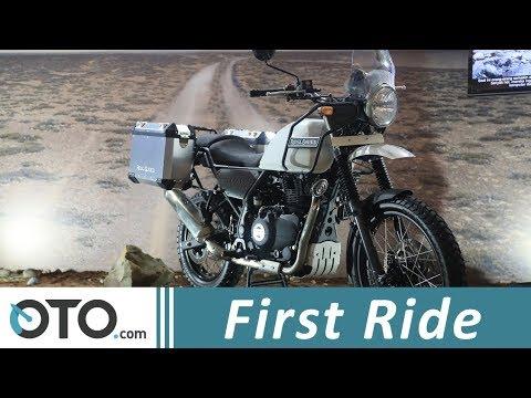 Royal Enfield Himalayan | First Ride | IIMS 2018 | OTO.com