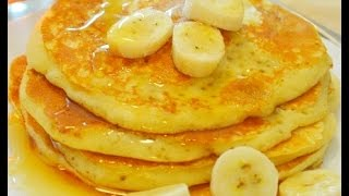can i make banana pancakes without baking powder