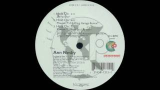 Ann Nesby - Hold On (Mousse T's Uplifting Garage remix) (1997)
