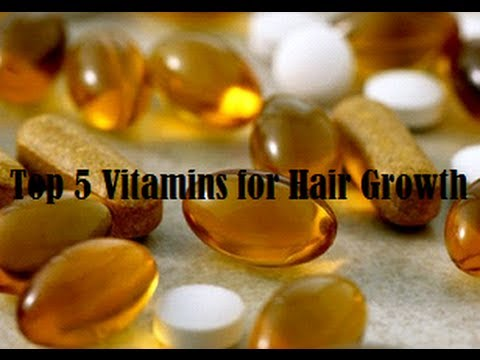 Video Top 5 Vitamins for Hair Growth