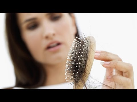 Die Maske für das Haar gegen die Hauttrockenheit