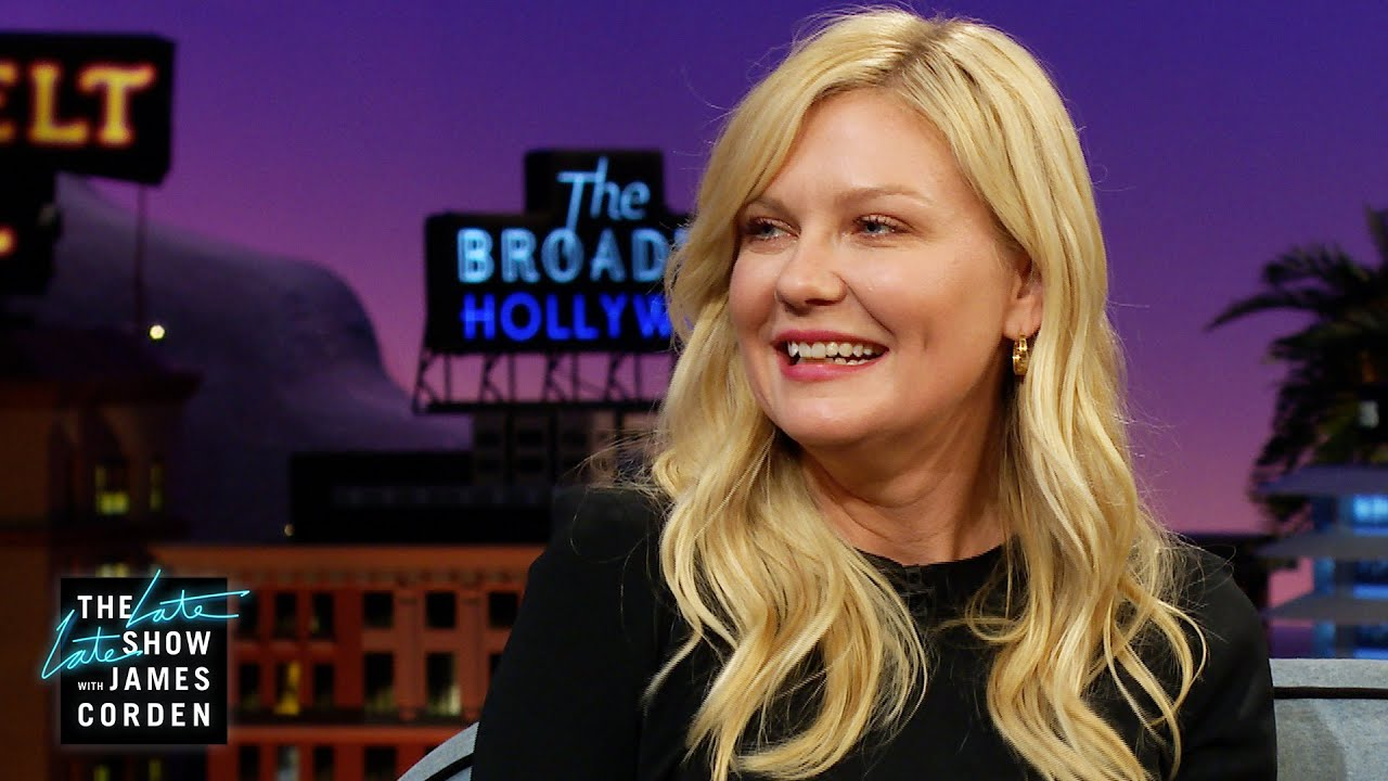 Kirsten Dunst's First Kiss was Normal.. - The Late Late Show
