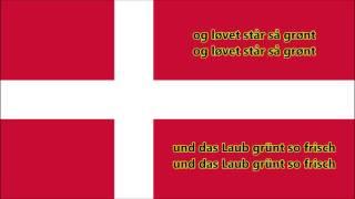 Dänische Nationalhymne - Anthem of Denmark (DK/DE Texte)
