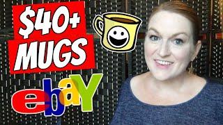 Selling Mugs On Ebay | What Mugs Sell On Ebay | Flipping Coffee Mugs | Mug Life