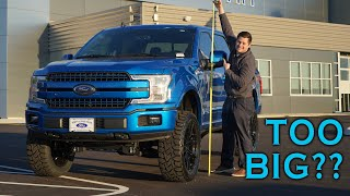 How Tall Will Your Lifted Truck Be?