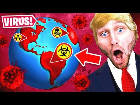 The PRESIDENT VIRUS is TAKING OVER THE WORLD (Plague inc)