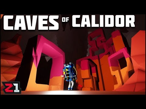 Updated Caves of Calidor! Astroneer Gameplay | Z1 Gaming