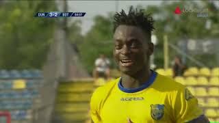 Ndiaye Face 3-2 In Min  '84 Dunarea - Botosani