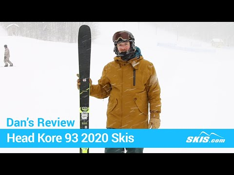 Video: Head Kore 93 Skis 2020 5 40